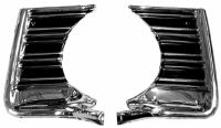 CHEVELLE GRILLE OUTER EXTENSION 67 PAIR NCM-M1362A